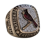 2004 BOB GIBSON ST. LOUIS CARDINALS NATIONAL LEAGUE CHAMPIONS RING