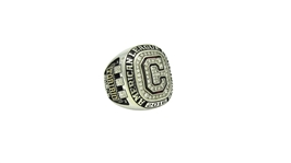 2016 DOMINGO TORIBIO CLEVELAND INDIANS AMERICAN LEAGUE CHAMPIONS RING WITH CERTIFICATE