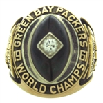 1961 LEE FOLKINS GREEN BAY PACKERS NFL CHAMPIONSHIP RING - LEE FOLKINS LOA