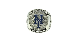 2015 PEDRO REYES NEW YORK METS NATIONAL LEAGUE CHAMPIONSHIP RING